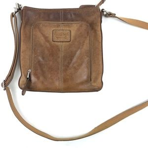FOSSIL leather crossbody Purse handbag ZB2841